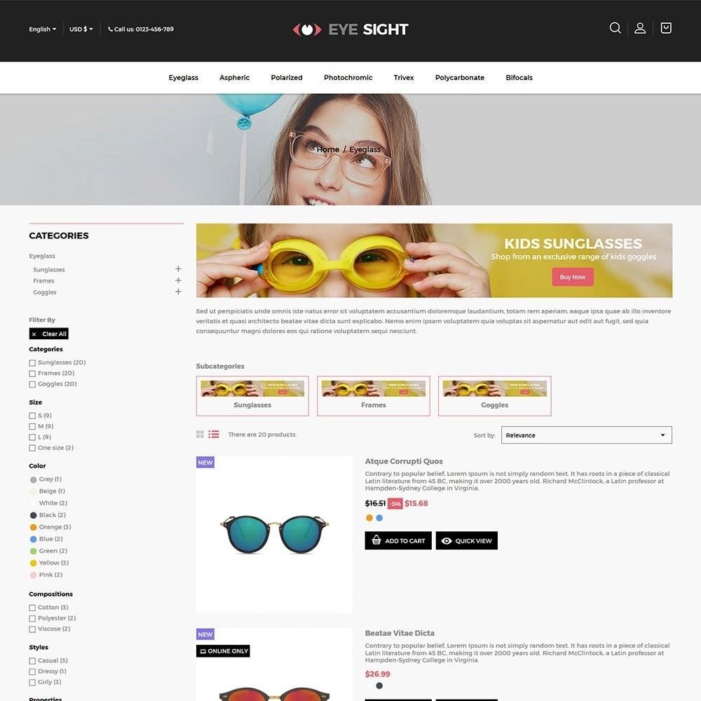 theme - Moda & Calçados - Eyesight - Glasses Online Store - 4