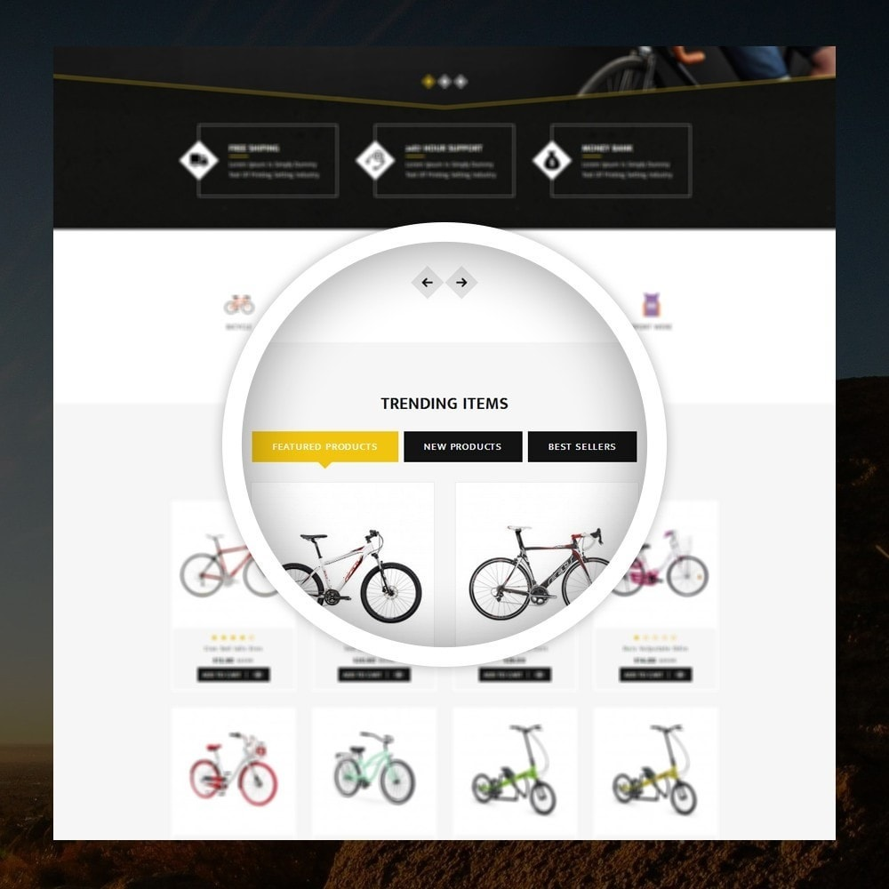 theme - Sports, Activities & Travel - Sneaps - The Bicycle Store - 9