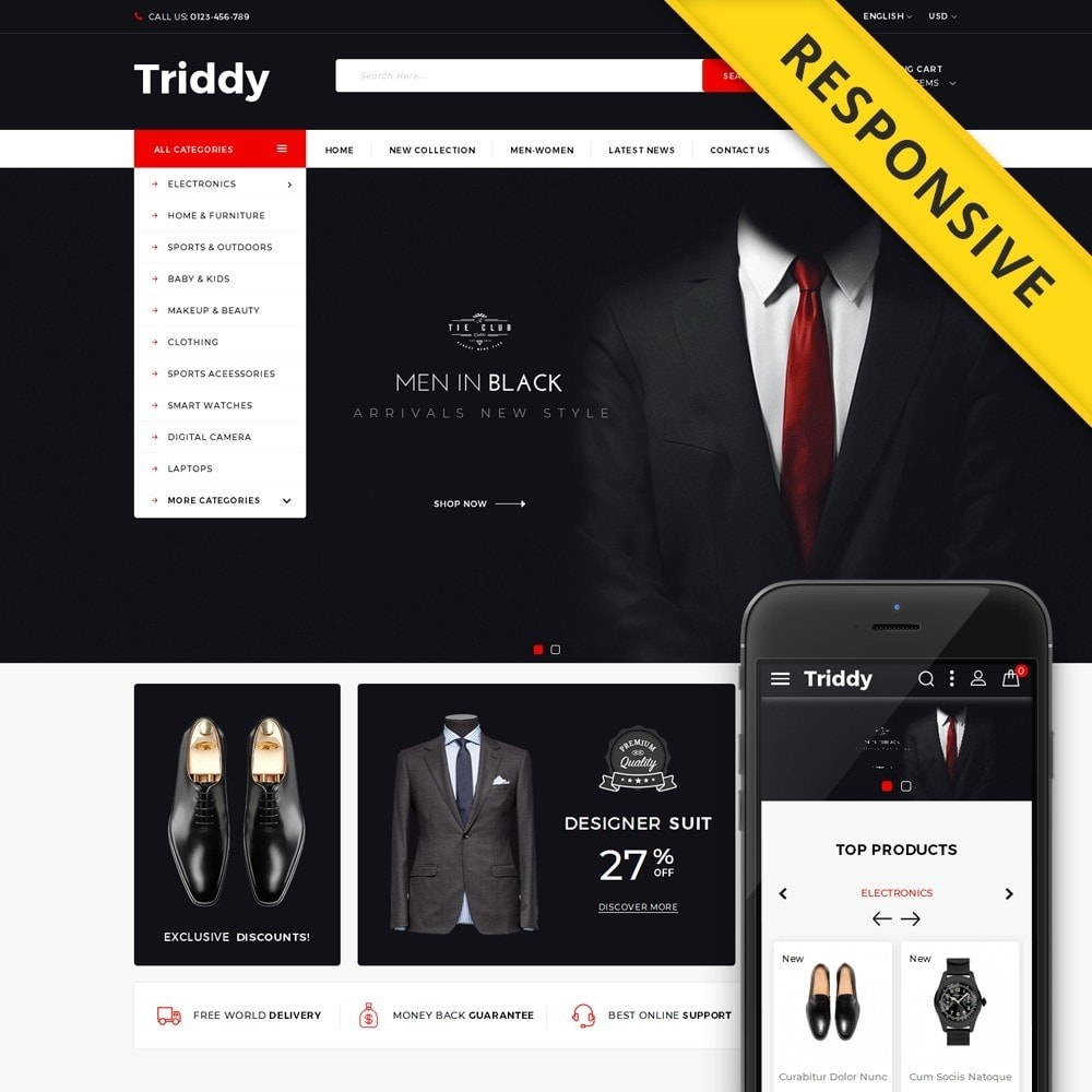 Triddy - Multipurpose Store