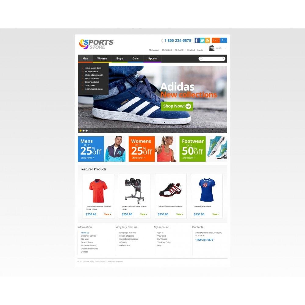 theme - Desporto, Actividades & Viagens - Responsive Sports Store - 4