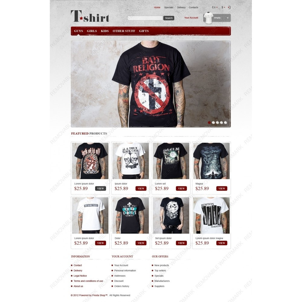 theme - Mode & Schoenen - Star T-Shirts Store - 3