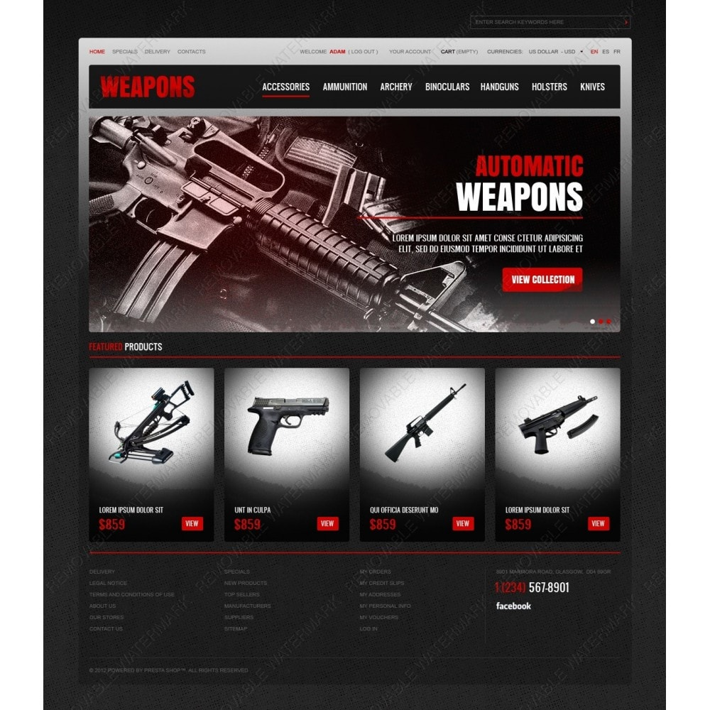 Weapons Store