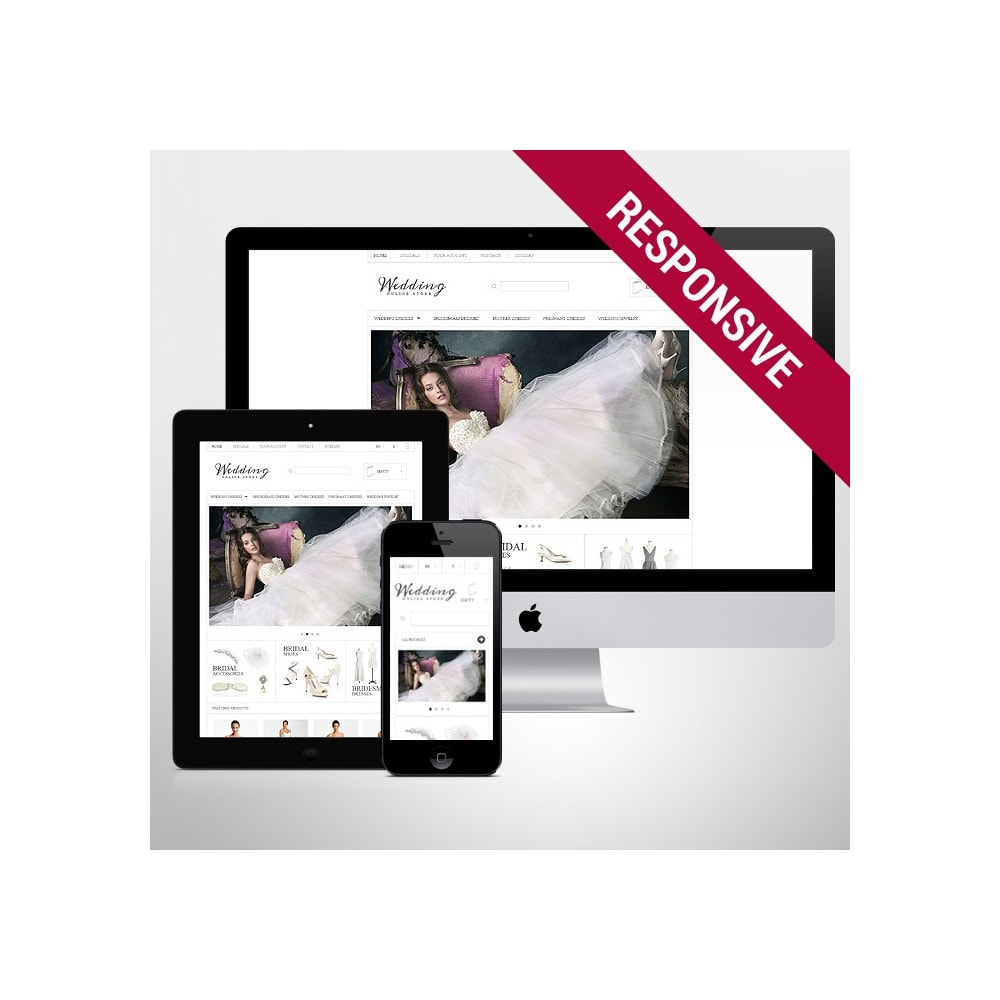 theme - Mode & Schuhe - Responsive Wedding Store - 1