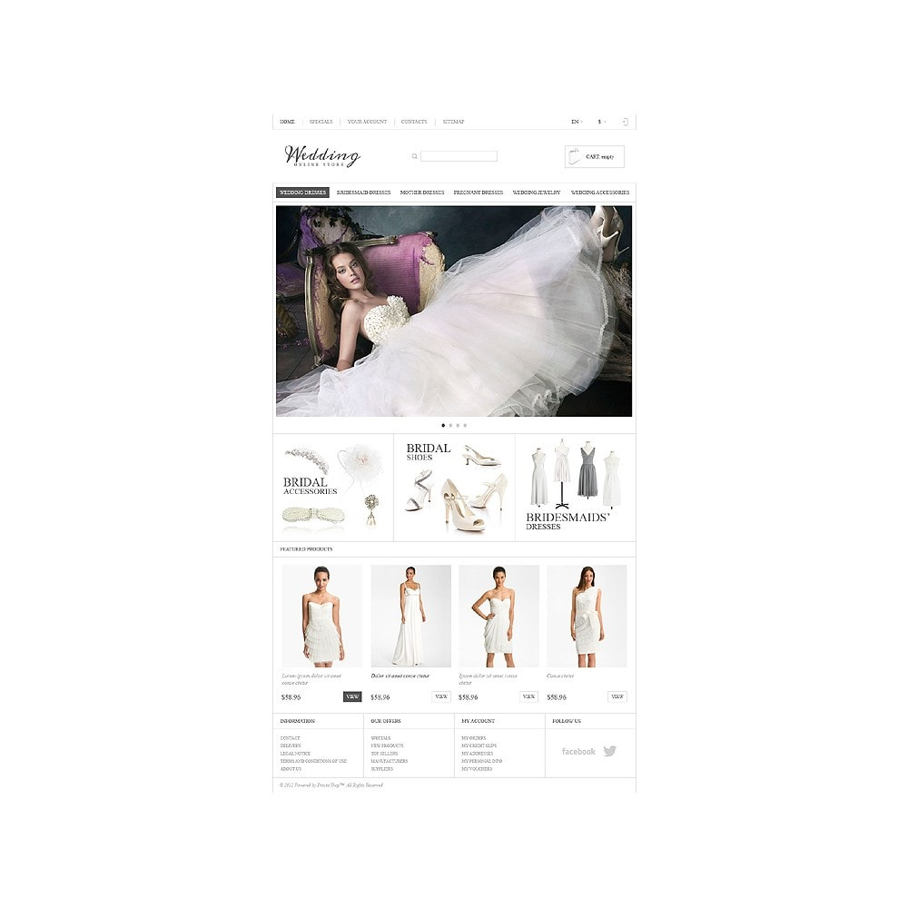 theme - Mode & Schuhe - Responsive Wedding Store - 11