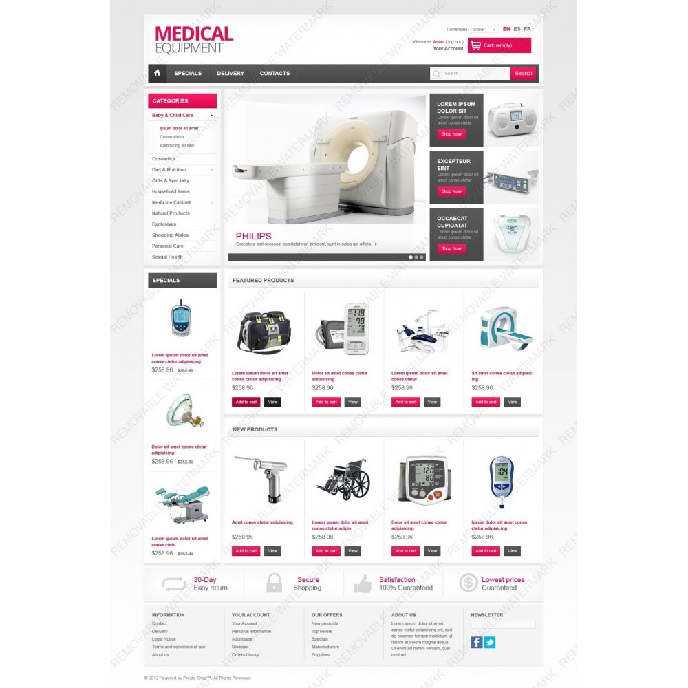 theme - Saúde & Beleza - Medical Equipment - 2