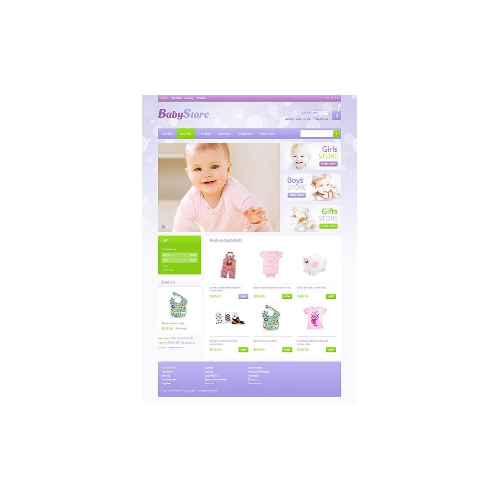 theme - Dom & Ogród - Baby Store - 1