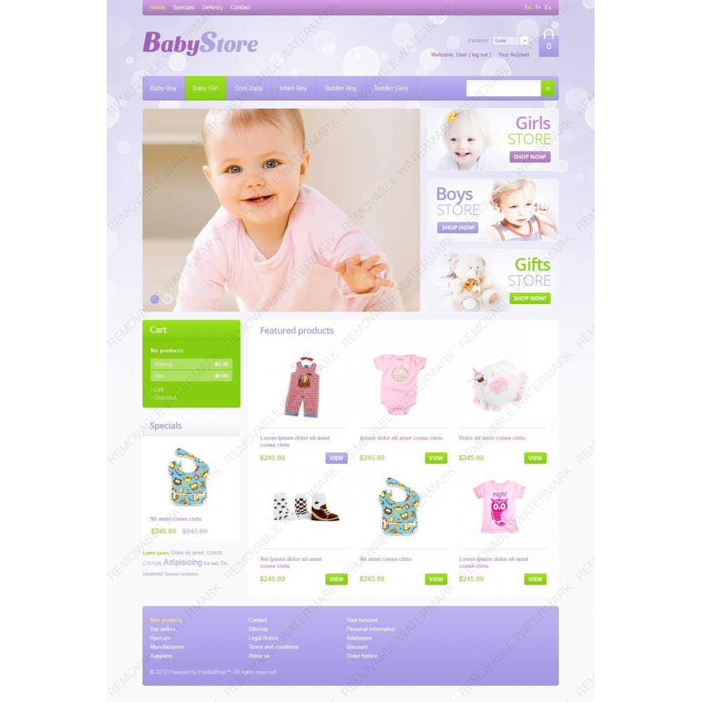 theme - Dom & Ogród - Baby Store - 2