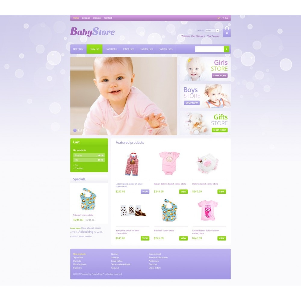 theme - Dom & Ogród - Baby Store - 3