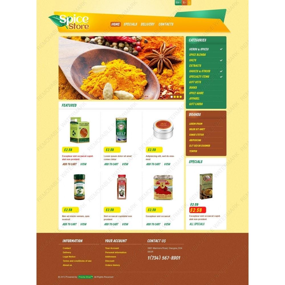 theme - Food & Restaurant - Responsive Spice Store - 3