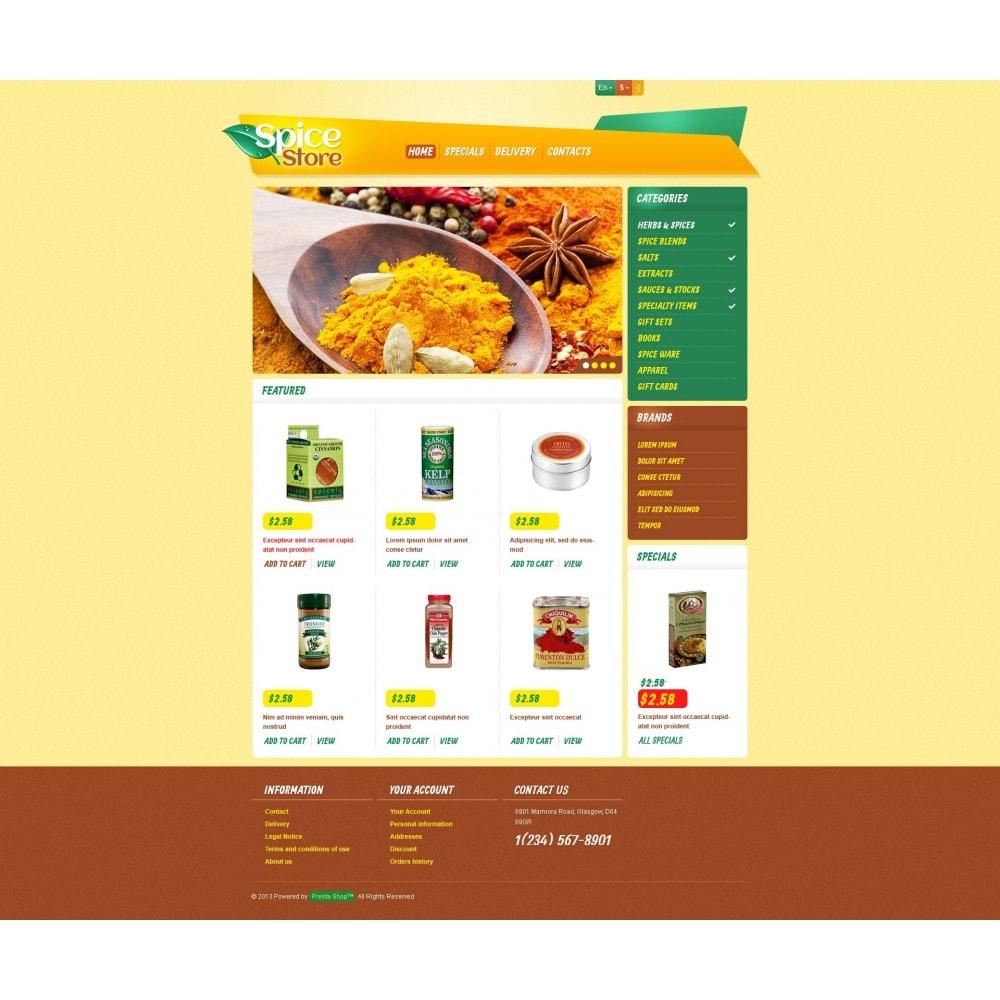 theme - Food & Restaurant - Responsive Spice Store - 4