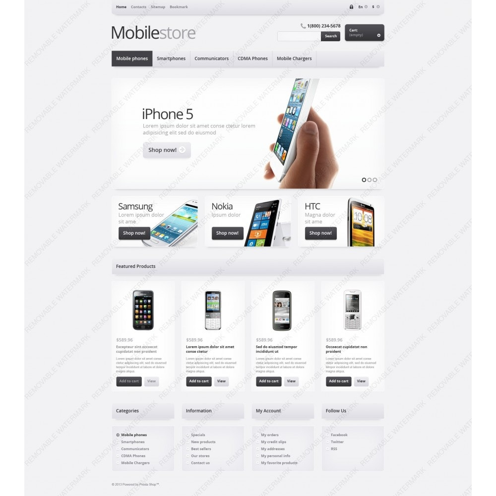 theme - Electrónica e High Tech - Responsive Mobile Store - 6