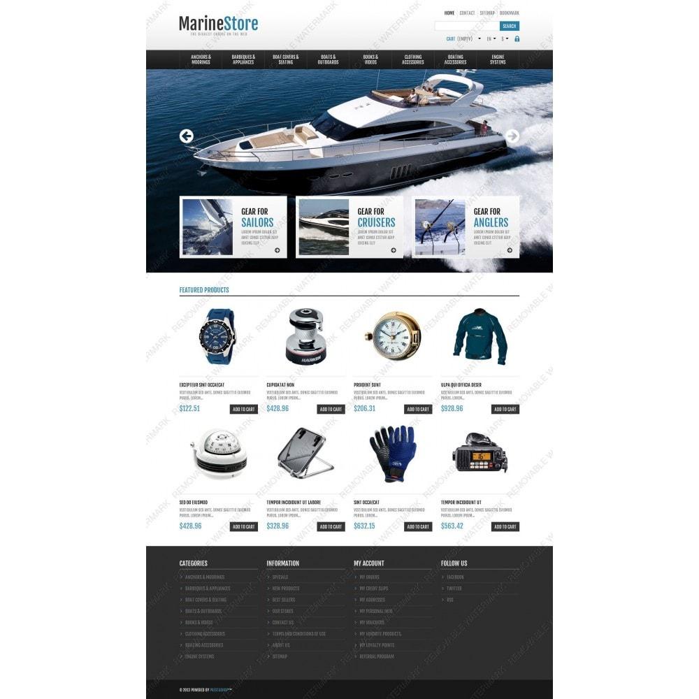 theme - Sport, Rozrywka & Podróże - Responsive Marine Store - 3