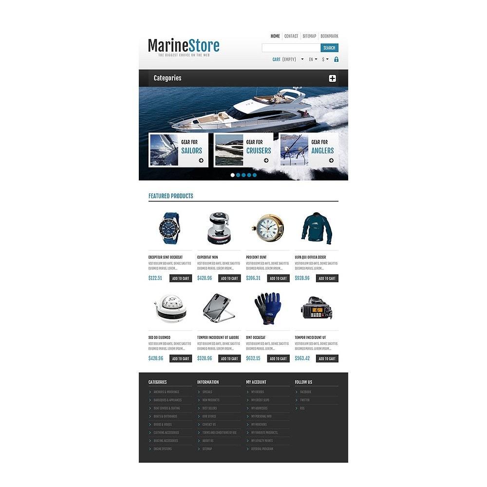 theme - Sport, Rozrywka & Podróże - Responsive Marine Store - 7