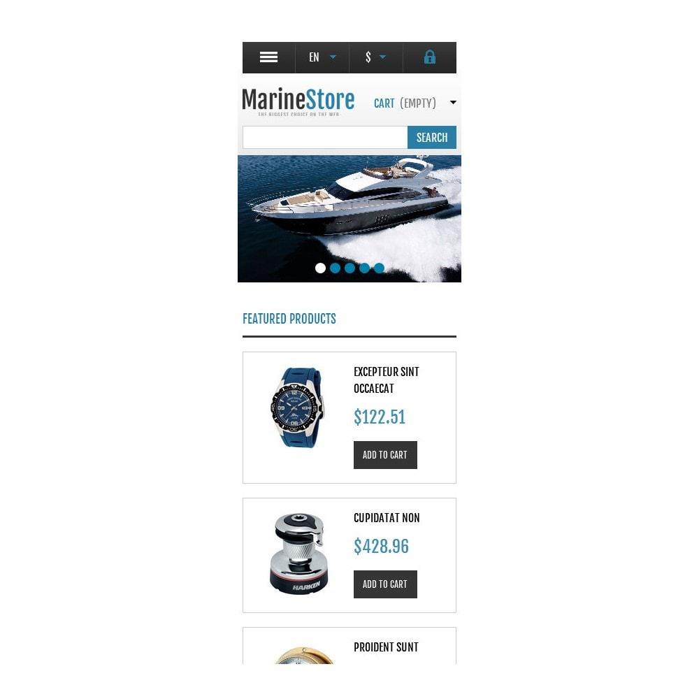 theme - Sport, Rozrywka & Podróże - Responsive Marine Store - 9