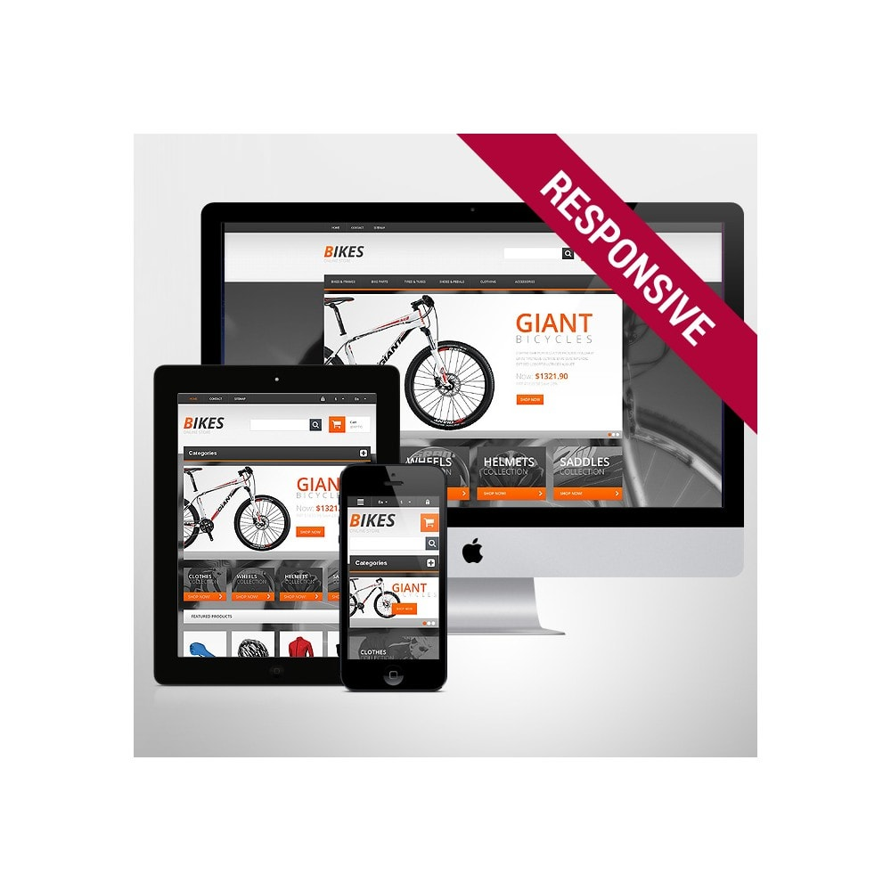 theme - Sports, Activities & Travel - Responsive Bikes Store - 1