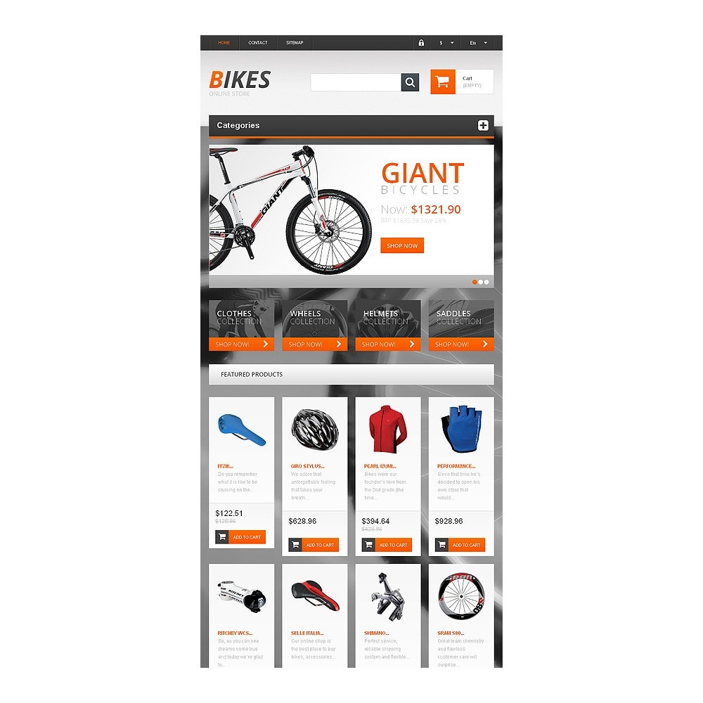 theme - Sports, Activities & Travel - Responsive Bikes Store - 7