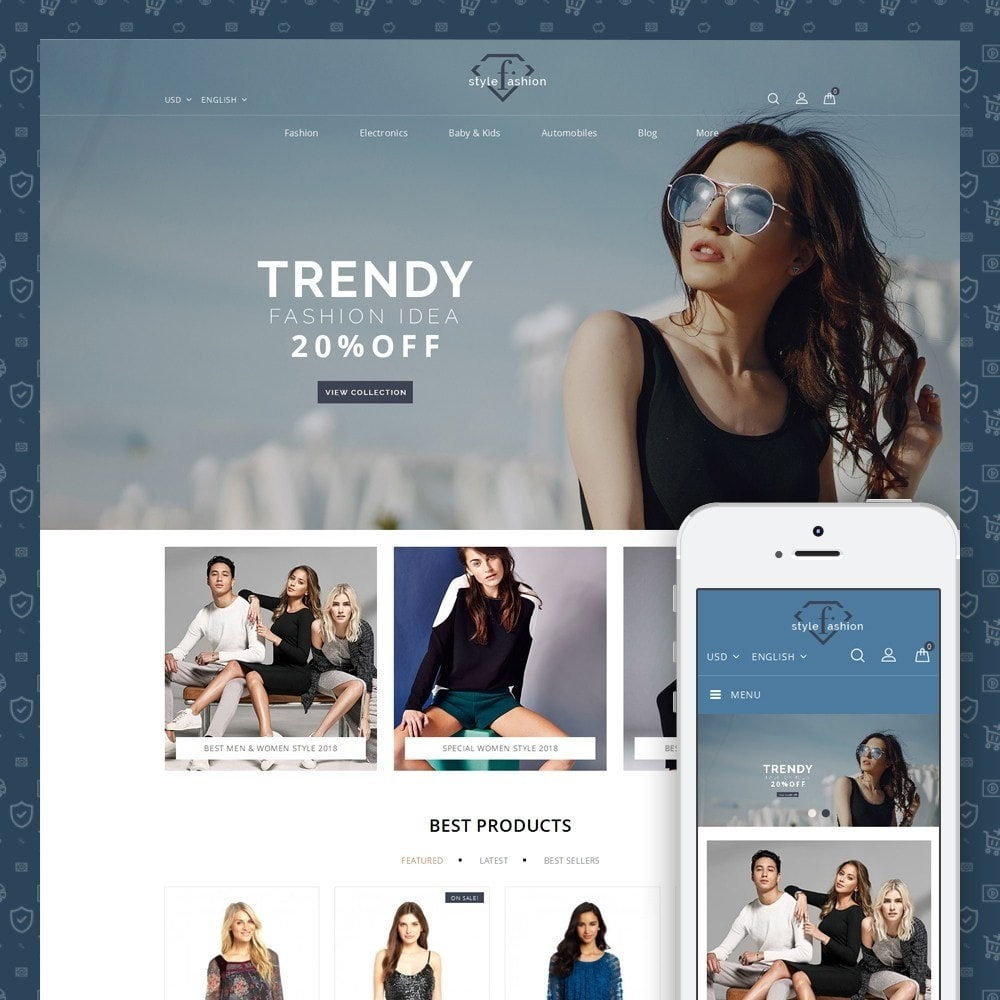 theme - Mode & Schoenen - Style Fashion Store - 1