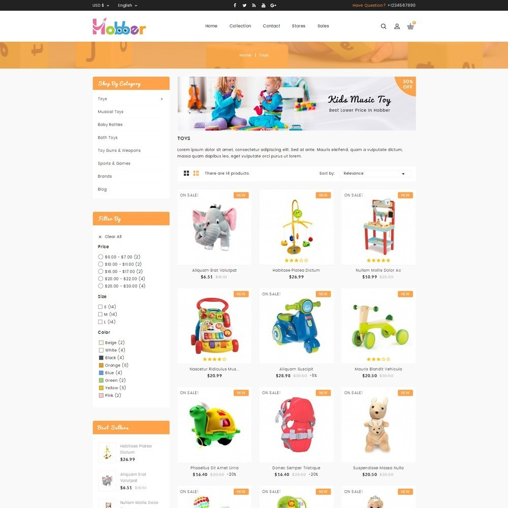 Hobber Toy Store