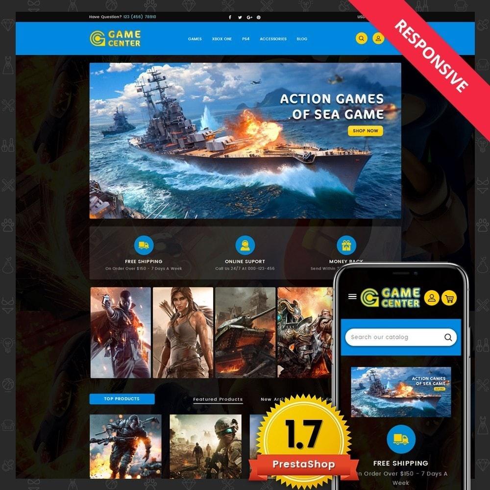 theme - Deportes, Actividades y Viajes - Game center Online Store - 1