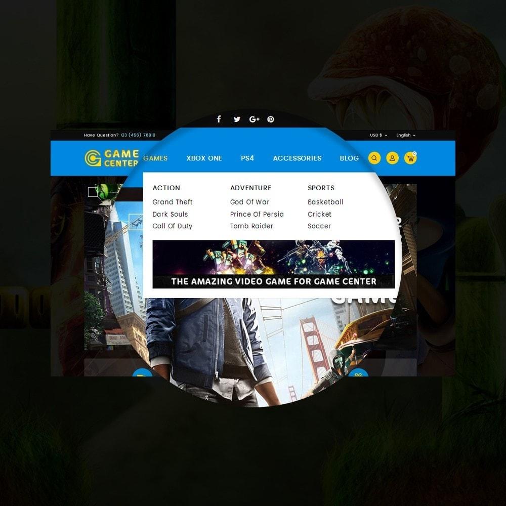 theme - Sport, Loisirs & Voyage - Game center Online Store - 11
