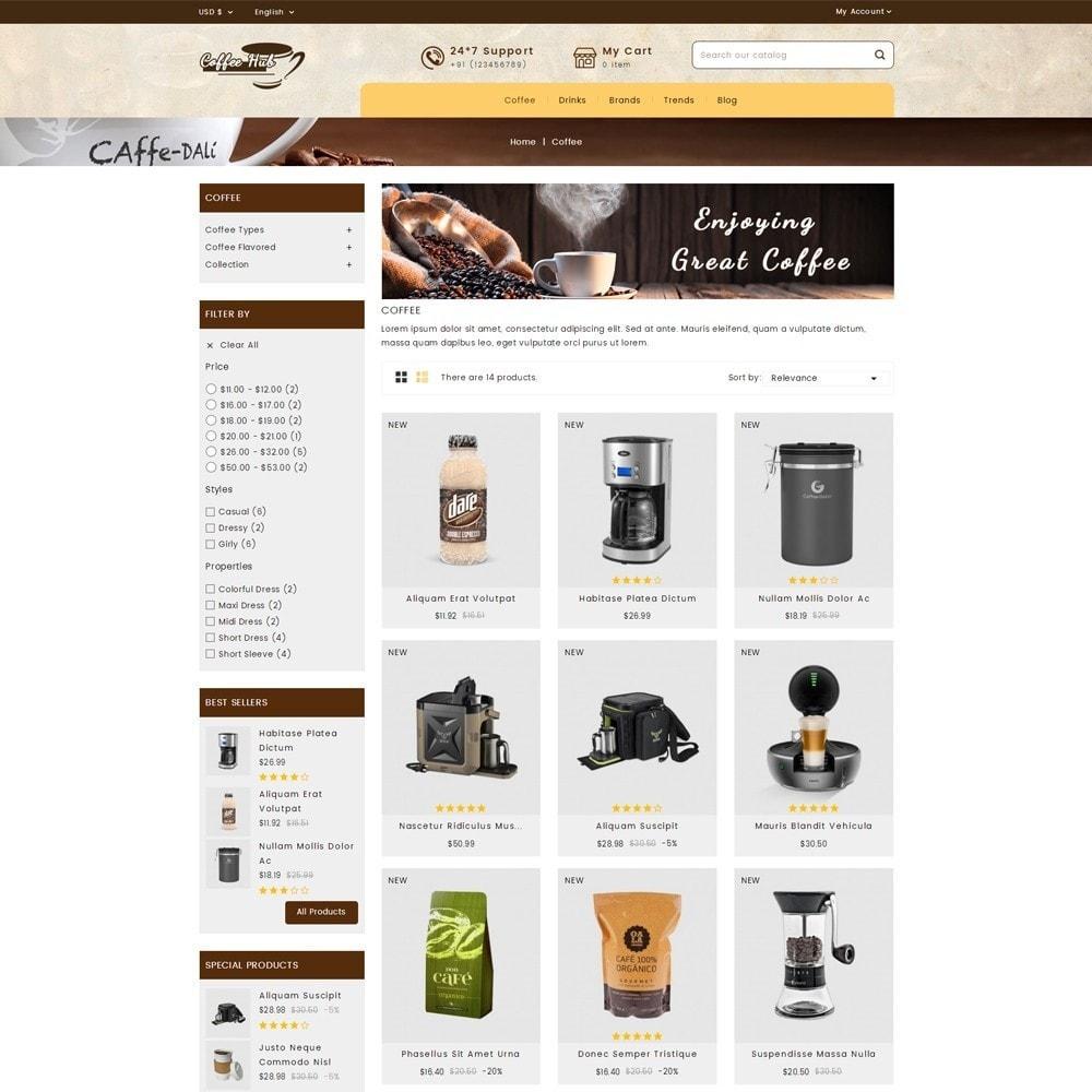 theme - Bebidas y Tabaco - Coffeehub Online Store - 3