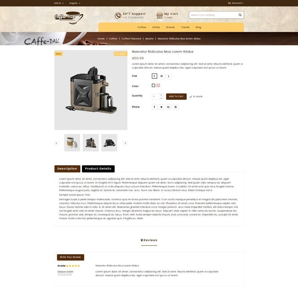 theme - Bebidas y Tabaco - Coffeehub Online Store - 5