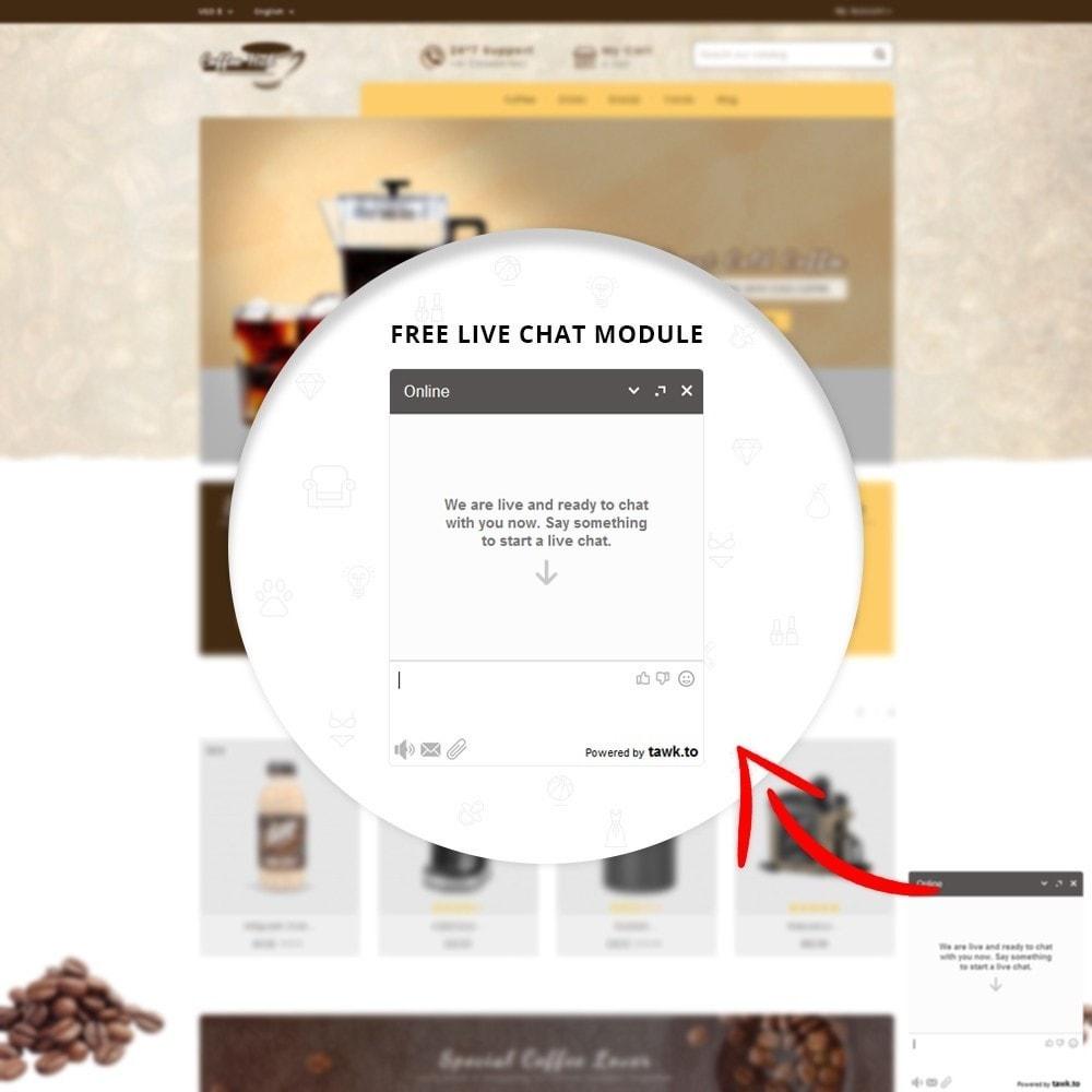 theme - Bebidas y Tabaco - Coffeehub Online Store - 6