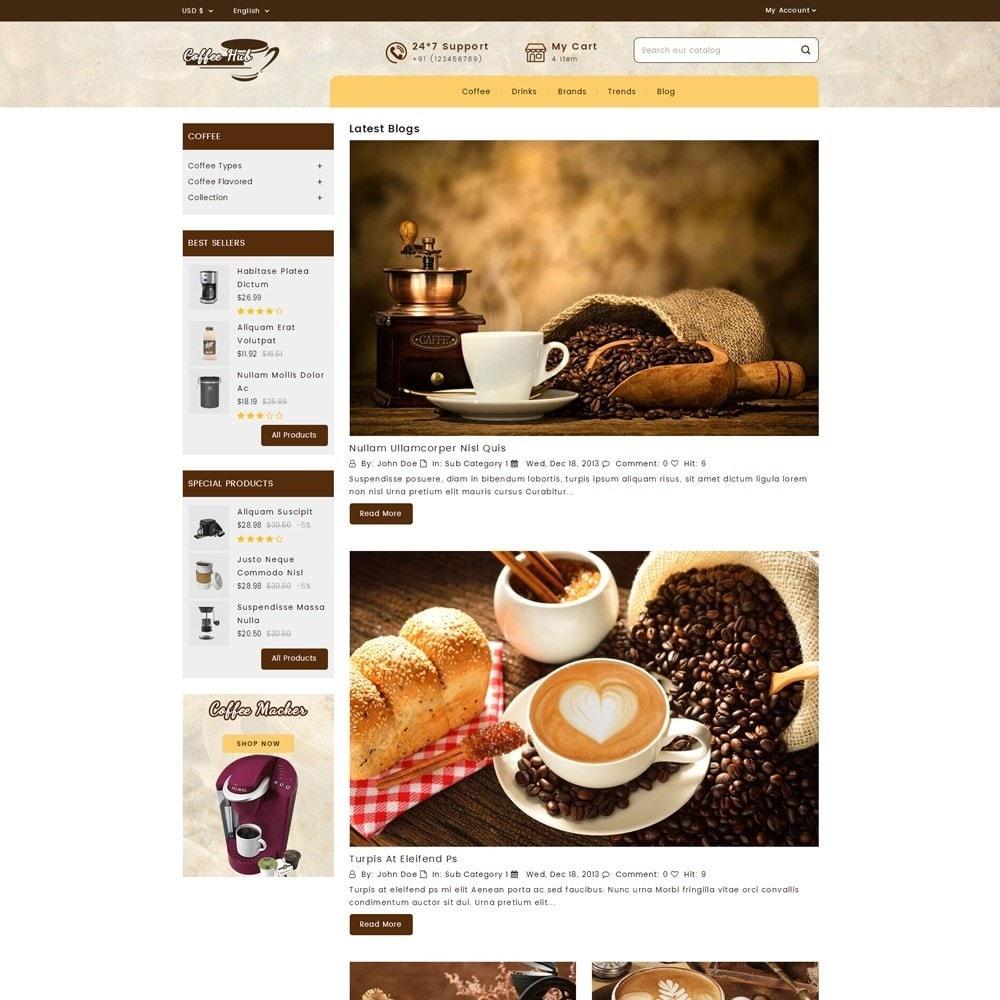 theme - Bebidas y Tabaco - Coffeehub Online Store - 7