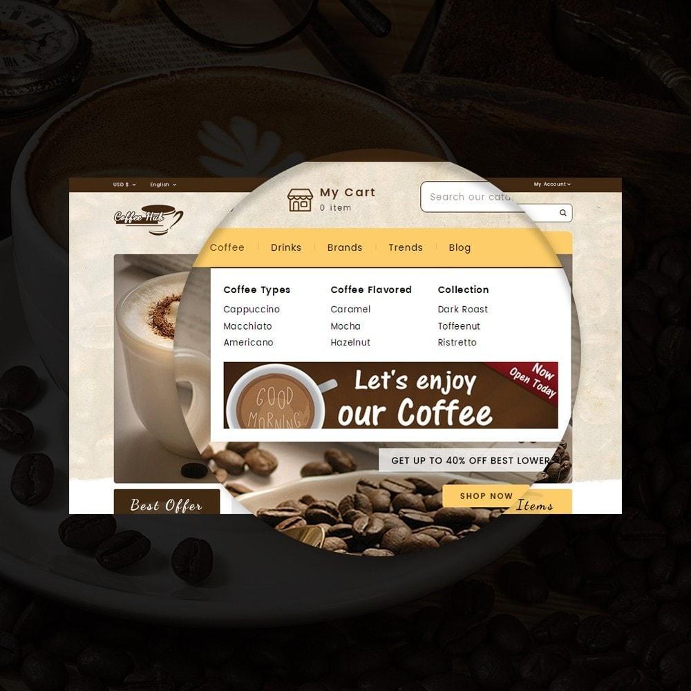 theme - Bebidas y Tabaco - Coffeehub Online Store - 9
