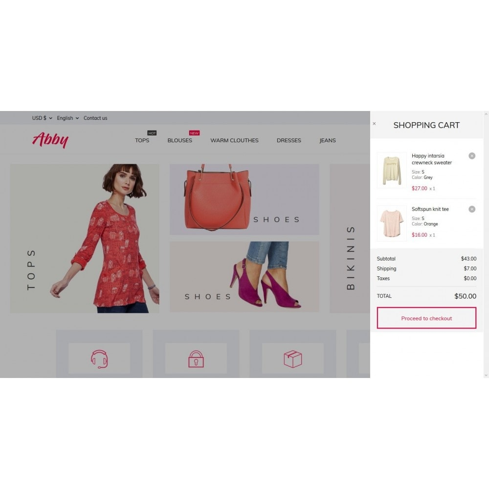 theme - Moda & Calzature - Abby Fashion Store - 7