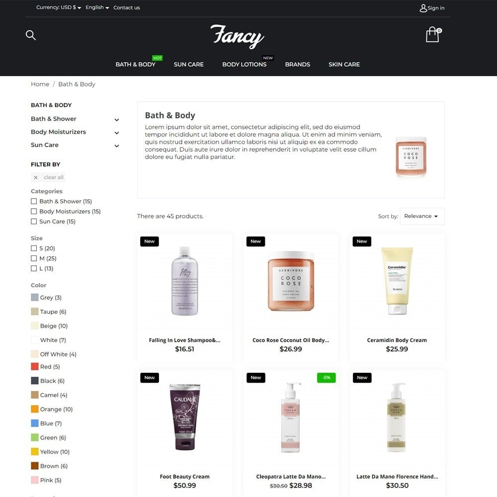 theme - Health & Beauty - Fancy Cosmetics - 5