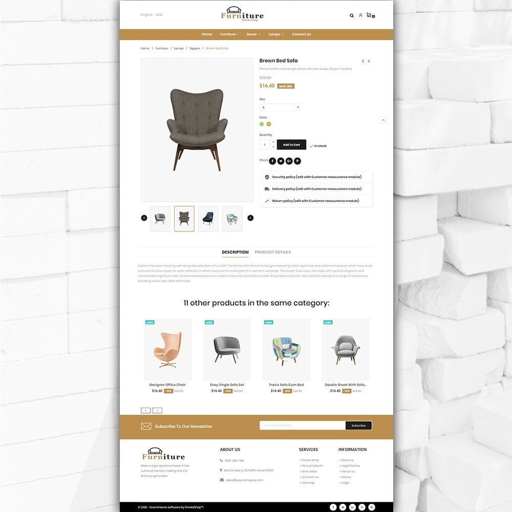 theme - Home & Garden - Furniture shop - Furniture and home decor store - 5