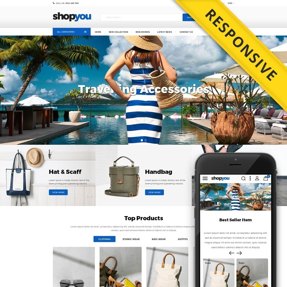 Shopyou - Travel Store