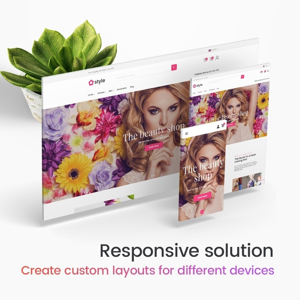 module - Silder & Gallerien - Creative Slider - Responsive Slideshow - 5