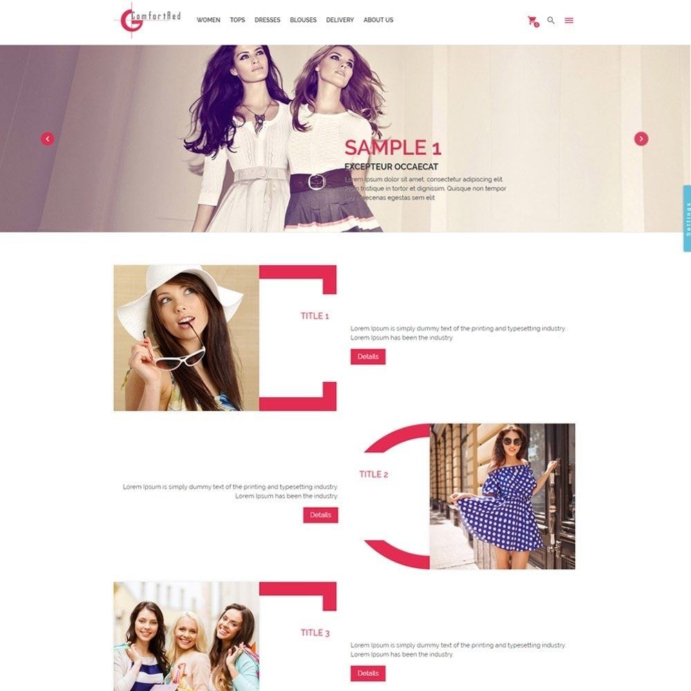 theme - Moda & Calzature - ComfortRed Style Clothes Store - 2