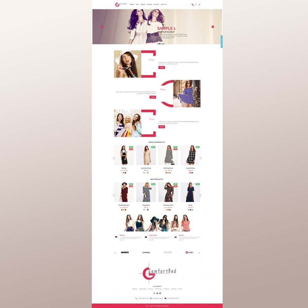 theme - Moda & Calzature - ComfortRed Style Clothes Store - 3