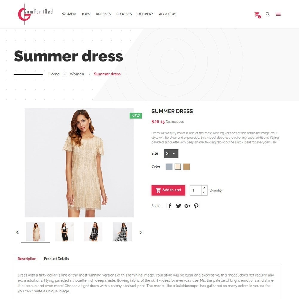 theme - Moda & Calzature - ComfortRed Style Clothes Store - 7