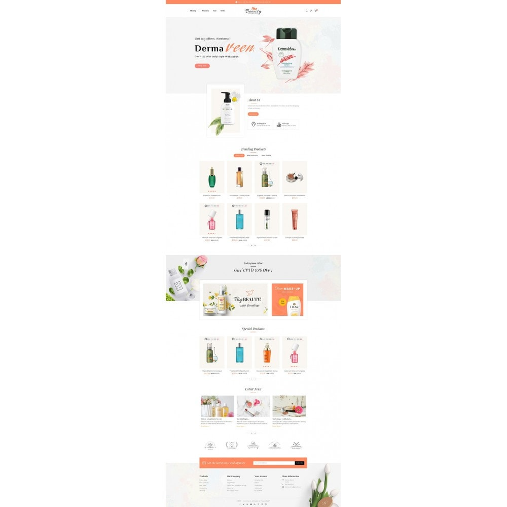 theme - Saúde & Beleza - Beauty Spa & Cosmetics - 2