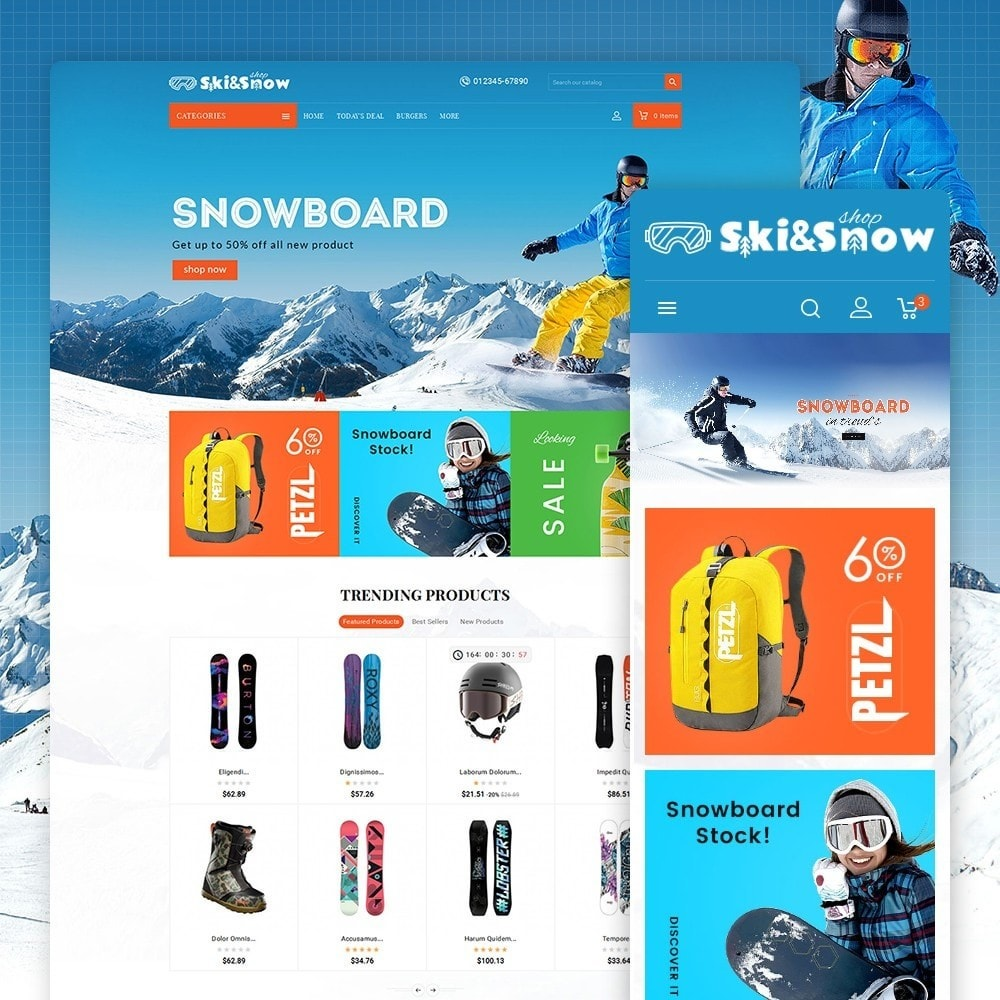 Ski & Snow Boards