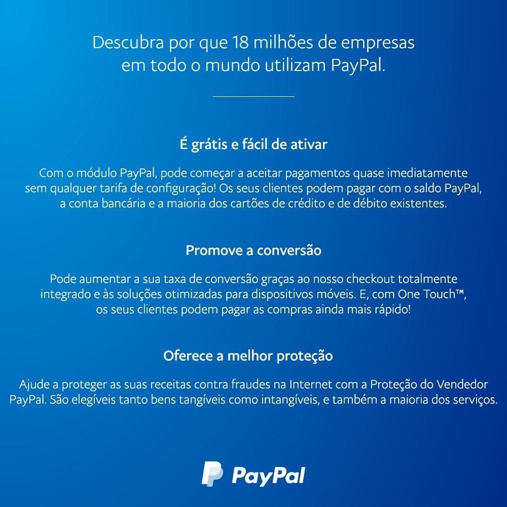module - Pagamento por cartão ou por carteira - oficial de PayPal - 4