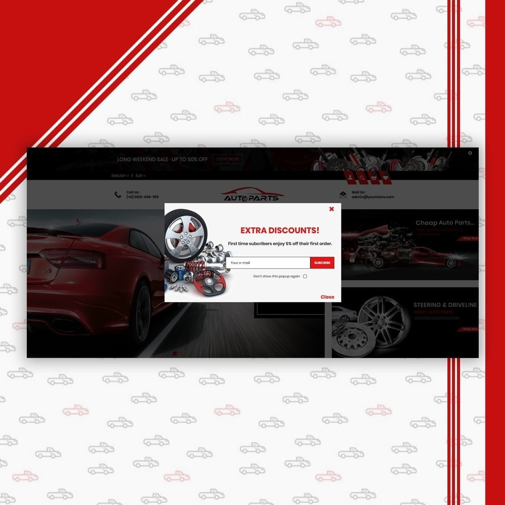 theme - Coches y Motos - Auto Parts Shop - 7