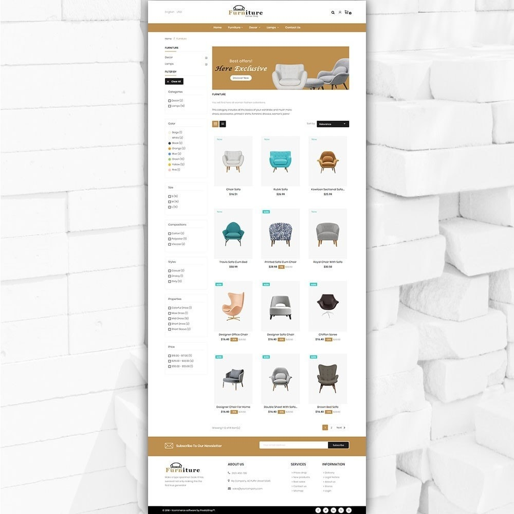 theme - Dom & Ogród - Furniture shop - Furniture and home decor store - 3