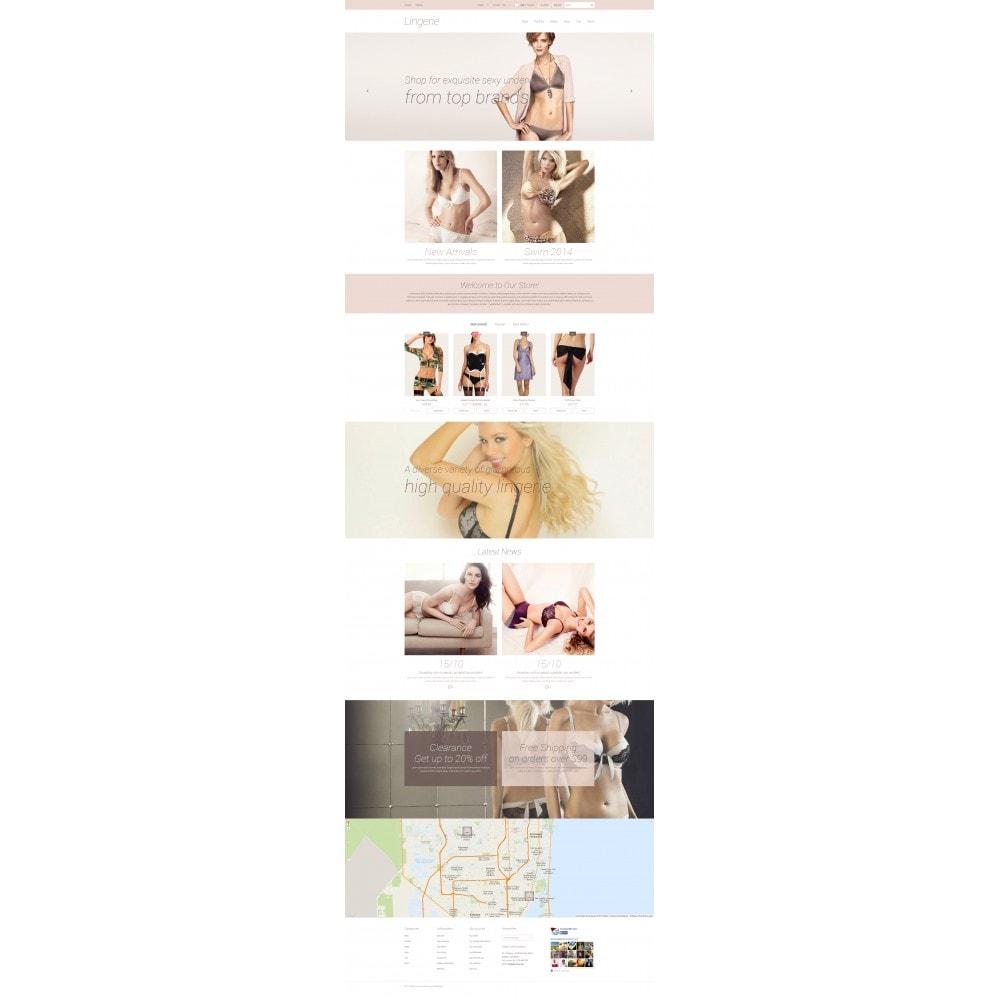 theme - Мода и обувь - Elegant Lingerie - 4