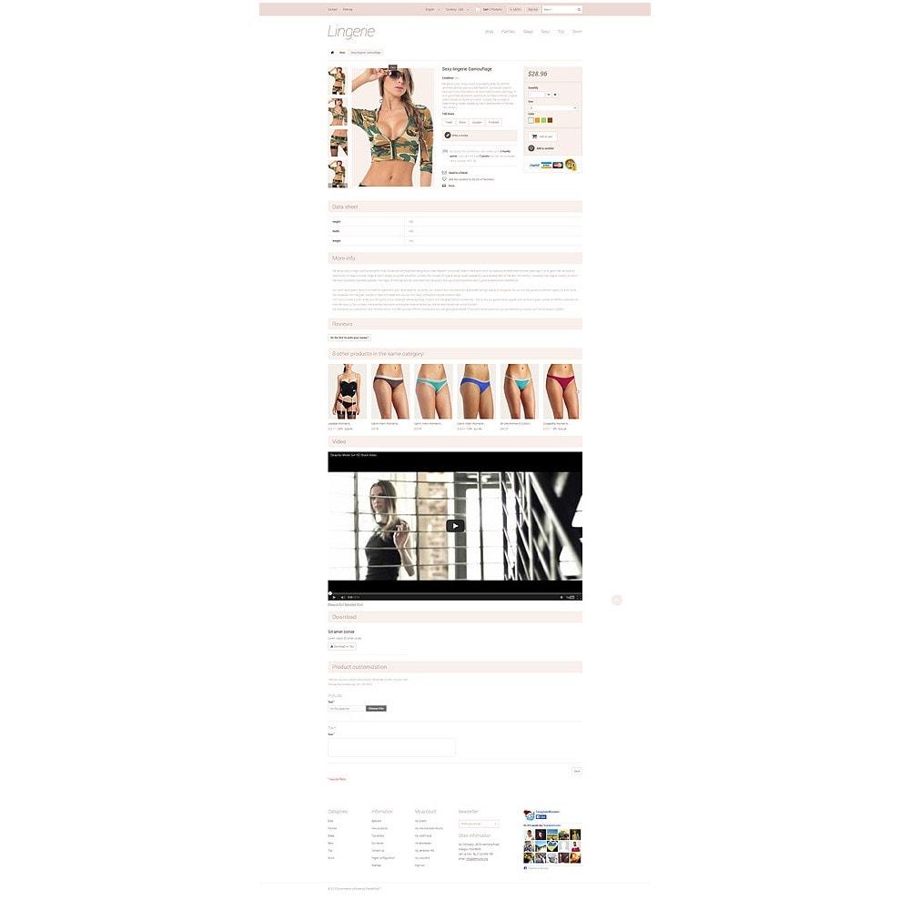 theme - Мода и обувь - Elegant Lingerie - 6