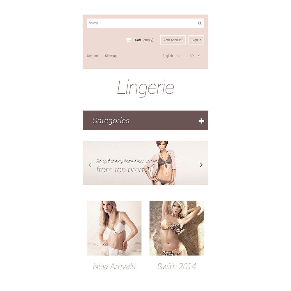 theme - Мода и обувь - Elegant Lingerie - 8