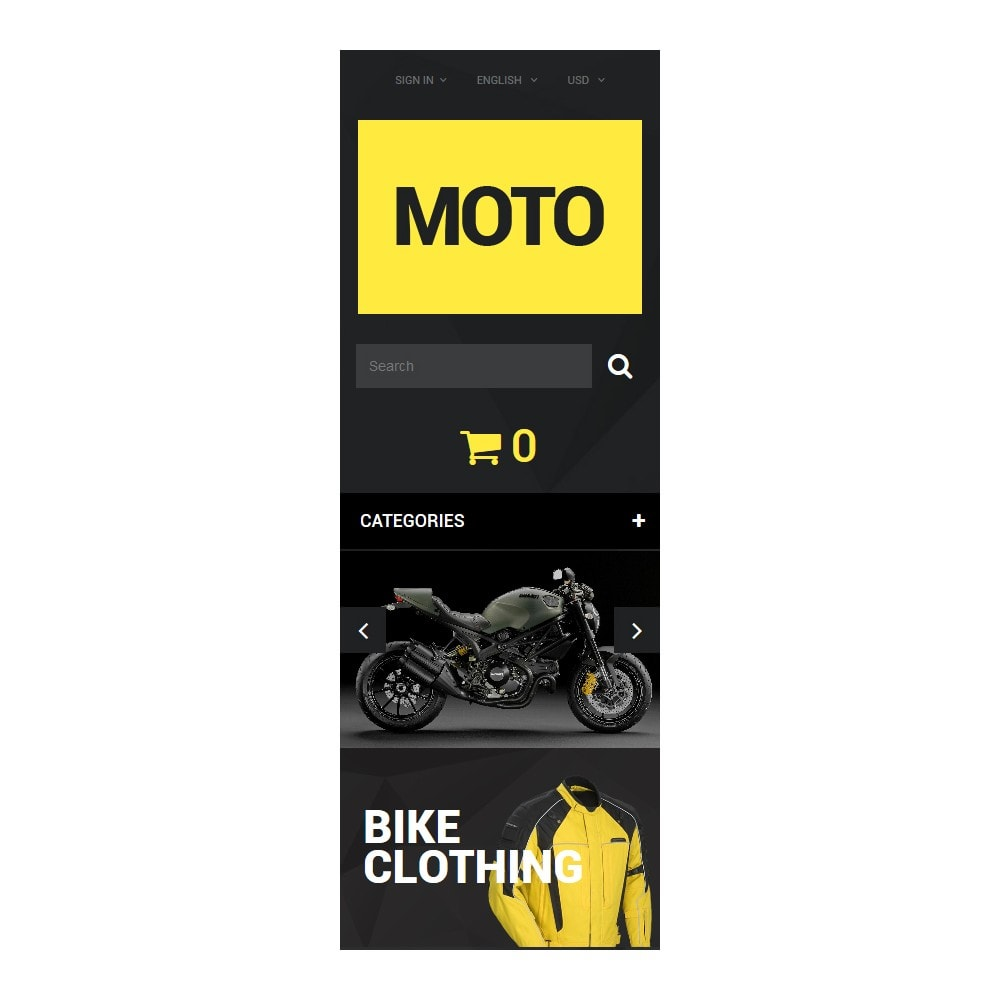 theme - Sport, Loisirs & Voyage - Motorcycle Store - 6