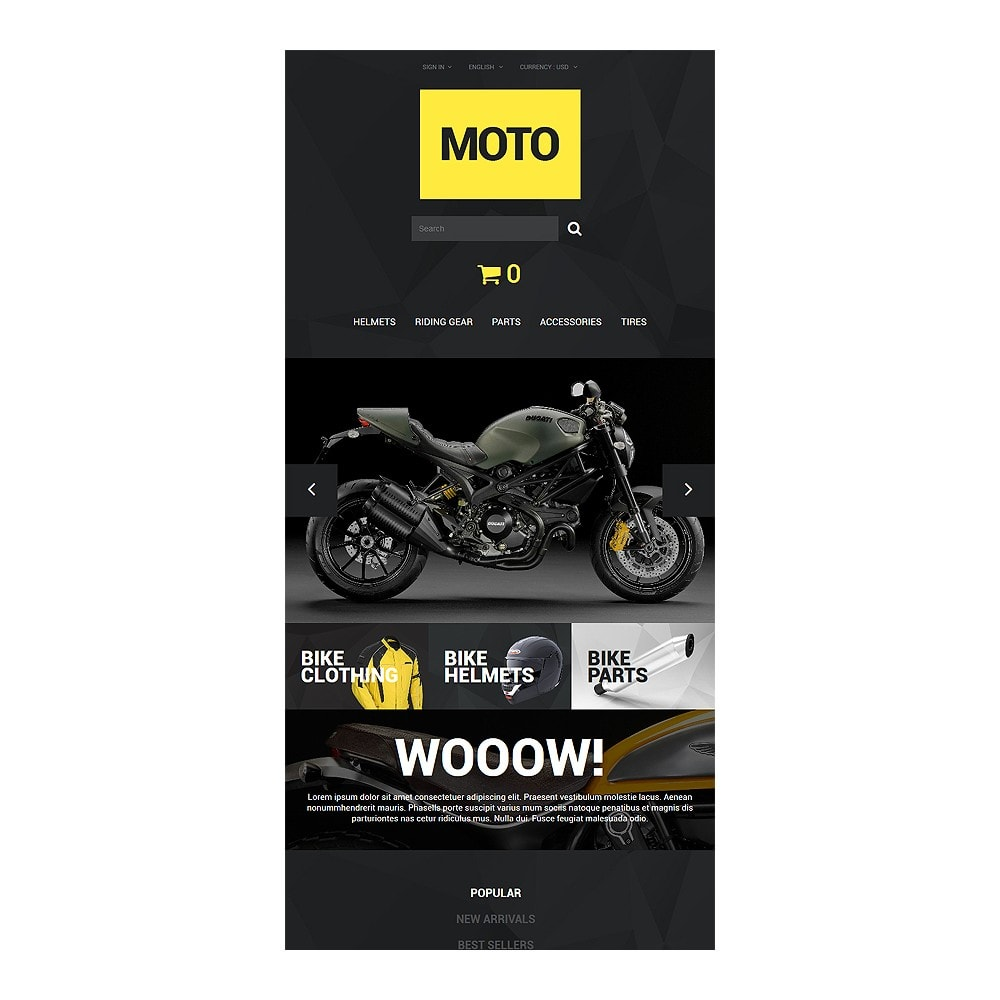 theme - Sport, Loisirs & Voyage - Motorcycle Store - 8