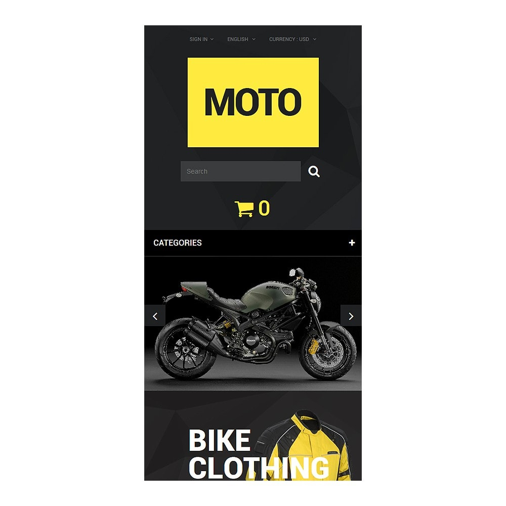 theme - Sport, Loisirs & Voyage - Motorcycle Store - 9