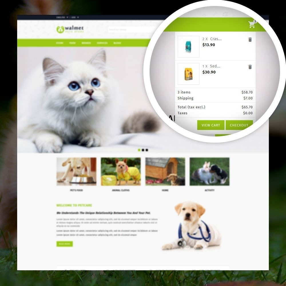 theme - Dieren - Walmet - Pets Store - 6