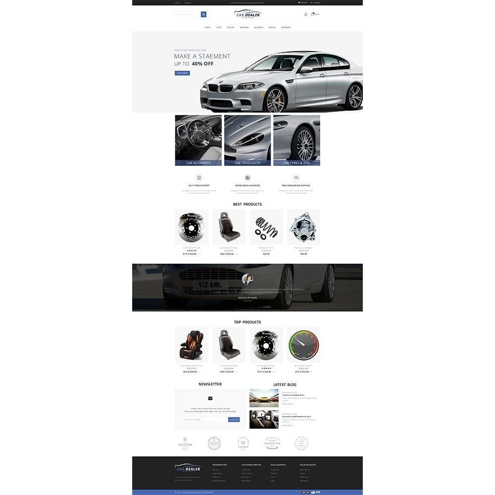 Car Dealer Store